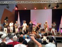 Pierre Morel-À-L'Huissier lors d'un concert pour la Défense de la vocation sanitaire et sociale de la Lozère